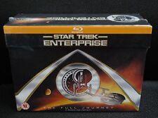 Star Trek Enterprise Blu-Ray Complete Series Box Set Season 1-4, Brand New