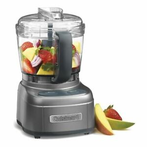 Cuisinart - Mini Prep Food Processor Gun Metal Grey with Handle