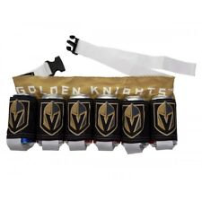 Vegas Golden Knights NHL Beer Belt 6-Pack Party Holster Officially Licensed