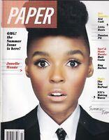 Paper Magazine Janelle Monae Kid Cudi Little Boots Summer 2009 100819nonr2