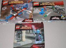 3x Lego Super Heroes! Spiderman ! 2x Spiderman und Electro OVP