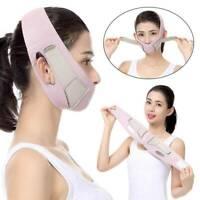 Women Facial Massager Face-Lift Belt Reduce Double Chin Thin Face Anti Wrinkle.