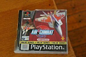 Air Combat Original PS1 Playstation One Game & Manual PAL Flying Aircraft Combat