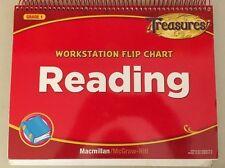 Grade 1 MacMillan MCGraw Hill Treasures Workstation Flip Chart Reading ONLY