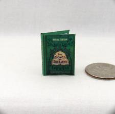SONGS OF IRELAND Miniature Book Dollhouse 1:12 Scale Readable Book Irish Lyrics