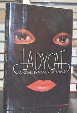 1980 LADYCAT Nancy Greenwald 1st Ed hc/dj Female Burglar Fiction