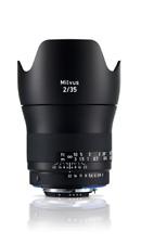 Zeiss Milvus 35mm F2.0 Lens ZF.2 Nikon Fit CC1050
