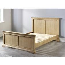 Oak Double Bed, Solid Oak Frame