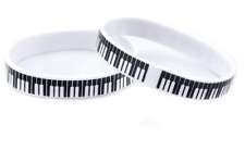 Piano Keyboard Wristband Silicone