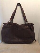 LUCKY BRAND brown leather shoulder  handbag
