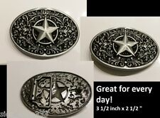 ♈  Star Belt Buckle  ♈ Nice buckle for every day use Great gift.Western