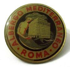 Pin Spilla Albergo Mediterraneo Roma