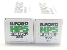 2 x ILFORD HP5 PLUS 400 120 ROLL CHEAP B&W FILM By 1st CLASS ROYAL MAIL