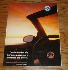 Original 2005 Volkswagen VW Full Line Sales Brochure 05 Beetle Touareg Jetta GTI