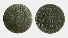 pcc1975_2)  Gubbio. Innocenzo X (1644-1655) -  1/2 mezzo Baiocco A VIII