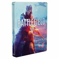 Battlefield 5 V Limited Steelbook Playstation 4 PS4 Hülle Box Set Ohne Spiel Neu