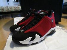 Nike Air Jordan 14 Retro Red Toro Gym Red EUR 44 BR42 UK 9 28cm