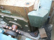 OHIO/GROVE GEAR REDUCER T525- 60-1 WITH FAN AND BASE LOW HRS
