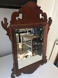 Antique Georgian revival wall mirror C1900