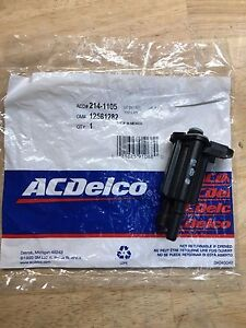ACDelco 214-1105 Vapor Canister Purge Valve GM OE 12581282