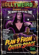 Plan 9 From Outer Space-DVD (1959) Bela Lugosi-Lyle Talbot-Tor Johnson-Vampira