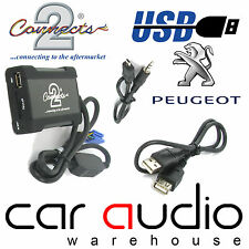 Connects2 CTAPGUSB012 Peugeot 107 2005 Onwards USB SD AUX IN Interface Adaptor
