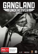 Gangland Undercover : Season 2 (DVD, 2018, 2-Disc Set) LIKE NEW REGION 4