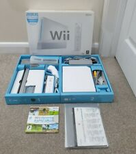 Nintendo Wii Console Boxed-Complete System & Wii Sport *USED ONLY A FEW TIMES!*