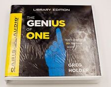 The Genius of One, God's Answer for our Fractured World Greg Holder Oasis Audio