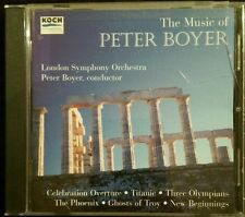 The Music of Peter Boyer: Celebration Overture, Titanic, Three Olympians....