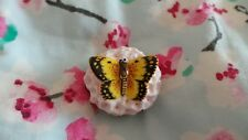 Halcyon Days Bonbonniere ~ 'Clouded Yellow Butterfly' ~ Boxed