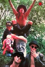 """Red Hot Chili Peppers """"Young Group Posing With Statue"""" Poster From Asia"""
