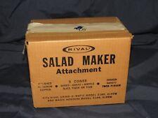 Salad Maker Attachment Model 2100,2100m for Rival Grind-O-Matic & Magic Hostess