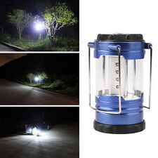 Hand Latern Bivouac Hiking Camping Tent Light 12 LED Lamp Portable +Compass