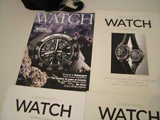 IWC WATCH MAGAZINE N 4 RIVISTE  INGLESE ENGLISH ITALIANO - LOTTO