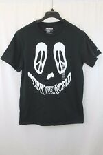 MENS YOUNG MAN TRUKFIT BLACK GRAPHIC CREWNECK T SHIRT SIZE LARGE NEW W TAGS $28