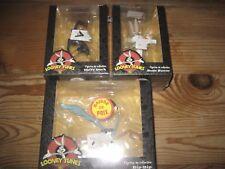 Lot de 3 Figurines loony tunes Bip-bip, Bugs bunny,daffy duck  NEUFS