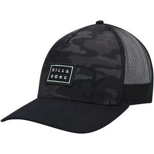 Billabong Beachcomber Camo Snapback Trucker Cap. One Size. NWT, RRP $29.99.