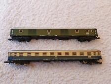 Märklin Spur Z - 1 x Packwagen und 1 x IC-Wagen 1. Klasse der DB