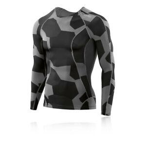Skins-Men /'s dnamic à Manches Courtes Top-BNWT-Plusieurs Tailles-RRP £ 40-Blanc