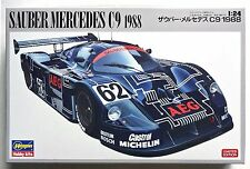 HASEGAWA #20273 1/24 Sauber Mercedes C9 1988 limited edition scale model kit