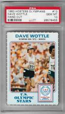 PSA 10 ~ 1983 HOSTESS OLYMPIANS DAVE WOTTLE CARD #13 ~ OLYMPIC 800M GOLD MEDAL