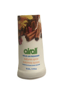 Airall Solid Air Freshener 6 oz Autumn Spice / Fall Winter Thanksgiving Holidays
