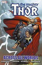 Thor Across All Worlds GN Dan Jurgens Andy Kubert Lady Sif Odin Avengers New NM