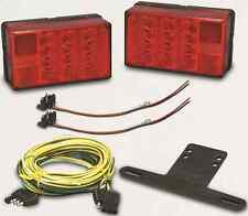 WESBAR LED WATERPROOF 4x6 LOW PROFILE TRAILER TAILLIGHTS KIT 407560 BRAND NEW