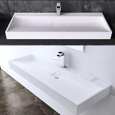 SoGood: Luxus Design Gussmarmor Waschbecken Stand Waschtisch Waschplatz 80x46 cm