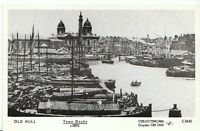 Yorkshire Postcard - Old Hull - Town Docks c1895 - Ref A5470