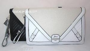 GUESS by Marciano ANNALYNNE Envelope Clutch Mini Bag Purse Wristlet Woven New