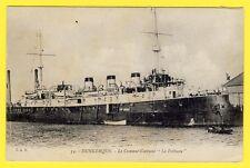 """cpa 59 - DUNKERQUE Marine Militaire Le CROISEUR CUIRASSÉ """" Le POTHUAU """" Navire"""