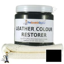 BLACK Leather Dye Colour Restorer for LAND ROVER Leather Car Interiors, Seats
